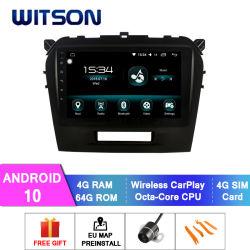 Witson Android 10 Car видео плеер для Suzuki Grand Vitara 2016 4 ГБ оперативной памяти 64Гб флэш-памяти большой экран в машине DVD плеер