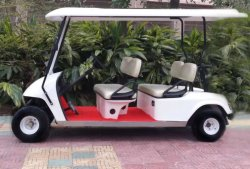 Mini 4 persona carro de golf eléctrico