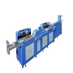 Novas cores Tipo 2 Etiqueta de Vestuário da máquina de impressão automática do ecrã