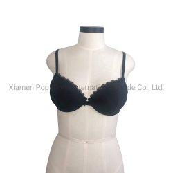 حمالة الصدر الأساسية للنساء أضافت قماش نيلون دقيق تحت السلك مع تقويرة مزركشة