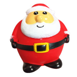 Grappige Huisdieren Toy Dog Puppy Squeaker Squeaky PVC Chew Toy Christmas Dog Toy Father Christmas Toy