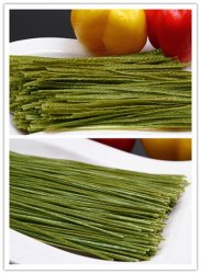 Pasta ad alta percentuale proteica asciutta del fagiolo della soia del nero della fibra di /High delle tagliatelle del fagiolo nero/alimento organico del Vegan