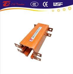 Shell de PVC Grúa Powerail cerrado sistema de barra de conductor