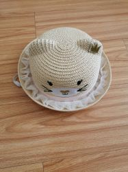 Sommer Kinder oben ohne Hut Unisex Carton Sunscreen Sunshdae Stroh Cap