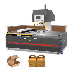 Blatt-stempelschneidene Maschine für die Nahrungsmittelkasten-Herstellung