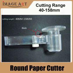 Outil de coupe papier rond en plastique diamètre réglable à partir de 53mm à 180 mm