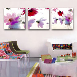 Pittura moderna della tela di canapa di stampa della parete dell'estratto su ordinazione di arte