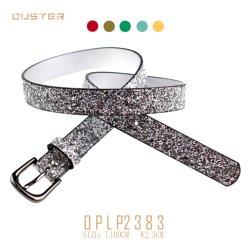 Promoção 2020 Fashion Fancy cintilantes PU Senhora Mulheres Correia Correias Nice Acessórios de Moda cintos de segurança para crianças
