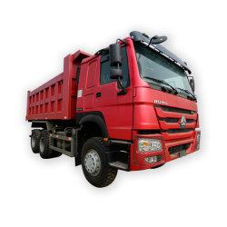 중국 HOWO 쓰레기꾼 30 톤 6X4 팁 주는 사람 트럭 덤프 트럭