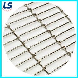 Cinghia della rete metallica della cinghia del nastro trasportatore della rete metallica dell'acciaio inossidabile