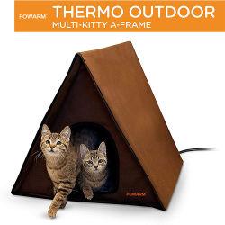 En plein air chauffée Water-Resistant Cat chambre