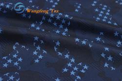 Imprime 100% poliéster 190t Pongee tejido de revestimiento de tela