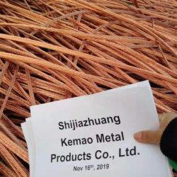 Высокое качество лома черных металлов медного провода продается по низкой цене из Китая/С SGS сертификат /99,95 %