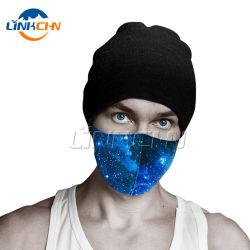 Fiesta de Navidad máscaras lavables de tela reutilizables los revestimientos de cara Mascarilla