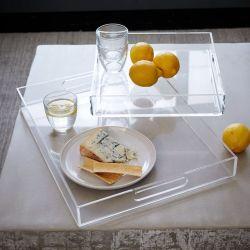 Qualität kundenspezifisches Größen-Raum-Acryltellersegment für Haus