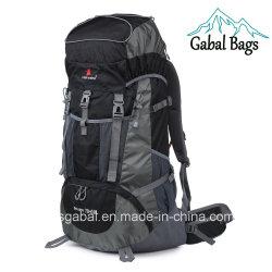 80L Professional nylon impermeable al aire libre deportes de turismo de montaña bolsa mochila