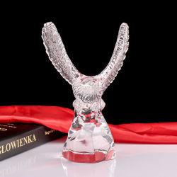 水晶ワシの良質のガラス記念品のギフト