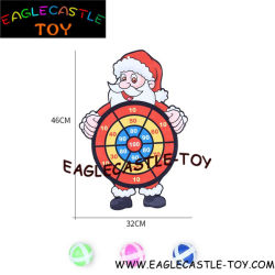 Sankt haftet Kugeln an den Zielen/an den Spielzeug-Geschenken für Weihnachten/Plastikspielwaren/Karikatur-Spielzeug/Kind-Spielzeug (CXT20723)