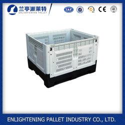 1210 Inklapbare Vouwbare Doos Pallet Plastic Folding Crate