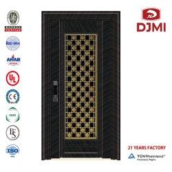 Porte intérieure de porte en bois porte en acier Fenêtre PVC Fenêtres rondes en aluminium