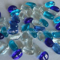 장식적인 유리제 주옥, 파란 혼합 (YG13M)