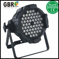 سعر جيد! مناسبة الزفاف مؤشر LED par داخلي يمكن 54 pcsx3w RGBW LED غسول سعر إضاءة