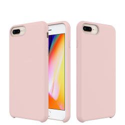 100% d'origine Fancy Téléphone Mobile de liquide de cas Housse en silicone pour iPhone X 6/7/8 Plus
