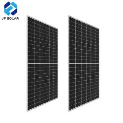 455W da estrutura em liga de alumínio anodizado Células Solares Painel Solar