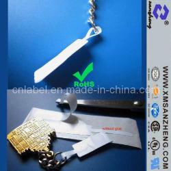 Resistente a productos químicos personalizados autoadhesivo brillante claro joyas y accesorios etiquetas