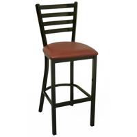 T145b 현대 다방 강철봉 의자