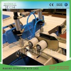 Rouleau de plastique PVC/UPVC latte d'obturation &l'agrégation&Profil de canal du conduit d'extrusion de prix de gros de l'équipement de la machine