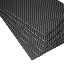 Pega da faca Material epóxi de fibra de carbono de exposição