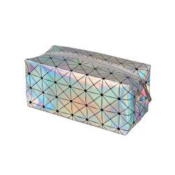 Mesdames personnalisé à la mode Glitter PVC Sac cosmétique
