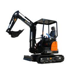 2 ton nouveau mini-excavateur bon marché pour la vente de la construction de jardin