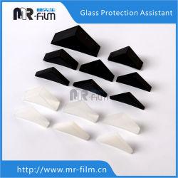 ガラス製コーナーを保護するコーナープロテクタ