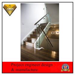 Frameloze Glazen Railing Roestvrijstalen Balustrade Glazen Balustrade (Jbd-Z14)