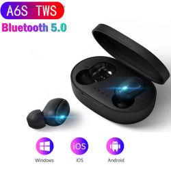 Casque stéréo sans fil A6s PRO TWS Bluetooth écouteurs Sport bruit Ecouteurs annulant microphone avec coffret de charge