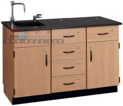 Banc d'équipement de laboratoire laboratoire de l'école Table & table de laboratoire de chimie