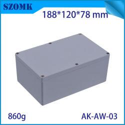 Водонепроницаемый литой алюминиевый корпус коробки управления для печатной платы