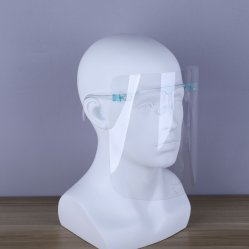 Careta de protección gafas máscara transparente Visor Anti-Fog Splash-Proof Protección Ocular protección facial completa con marcos de anteojos