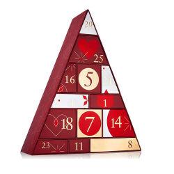 Logo de vente au détail personnalisé imprimé Noël Boîte Cadeau Chocolat/chocolat Calendrier de l'Avent