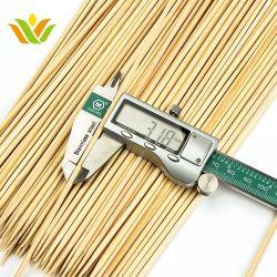 Os espetos de bambu redonda Pack Birch espetos de madeira fábrica direta