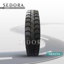 Hanmix Sedora totalmente de acero de larga distancia radial de camión volquete pesados de los neumáticos de autobuses Camionetas LTR TBR Carretilla Bus&Neumáticos para Camiones 11r22.5 12r22.5