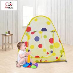 Carpa plegable Bebe Durmiendo Pup Tent up