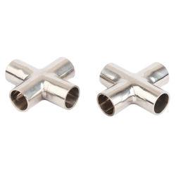 可鍛性鉄の管付属品は等しい減少の十字に電流を通した
