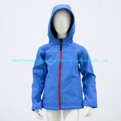 소프트 쉘 어린이용 방수 의류 및 후드 웜 코트 패션 윈드브레이커 재킷