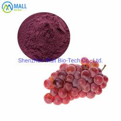 Extrait de la peau du raisin de haute qualité / le resvératrol/La peau du raisin de pigments, de l'extrait de graines en poudre avec des prix plus bas