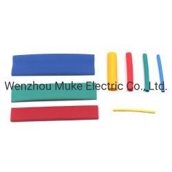 Shrink-Schlauchverpackungs-Hülsen-Installationssatz-Oberseite-Polyolefin-buntes Kabel-Sleeving Zusammenstellungs-Großhandelsverpackung 2:1 der Fabrik sortierte Wärme