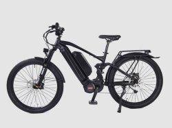Полной приостановки 1000W электрический горный велосипед грязи на велосипеде