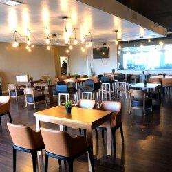 Chinese fabriek Commercial Furniture Leverancier voor Restaurant Cafe Table Chair Zitplaatsen in de cabine